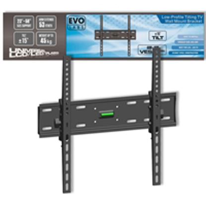 "Picture of Evo Labs Low-Profile Tilting TV Wall Mount Bracket (23-56"")"