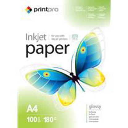 Picture of ColorWay Glossy 180gsm A4 Photo Paper 100 Sheets