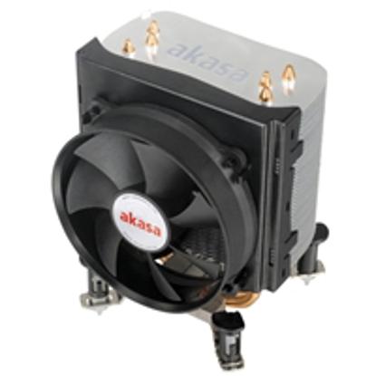 Picture of Akasa X4 Universal Socket 92mm PWM 2500RPM Black Fan CPU Cooler