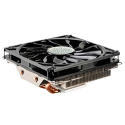 Picture of Akasa Nero LX 2 Universal Socket 120mm PWM 1800RPM Low Profile Black Fan CPU Cooler