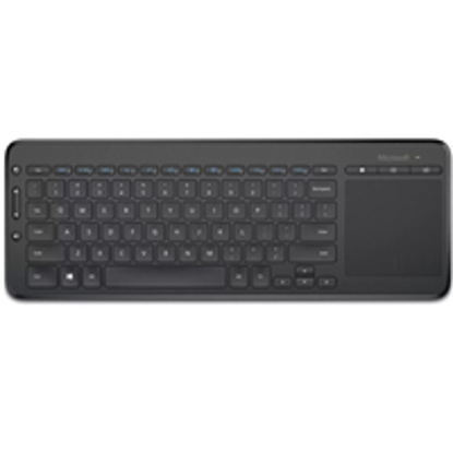Picture of Microsoft All-in-One Wireless Media Keyboard with Integrated Trackpad