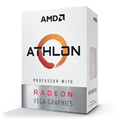 Picture of AMD Athlon 3000G Dual Core 3.5Ghz Radeon Vega 3 AM4 CPU