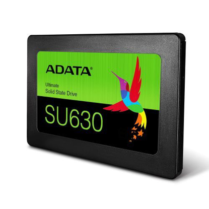 "Picture of ADATA 1920GB Ultimate SU630 SSD, 2.5"", SATA3, 7mm , 3D QLC NAND, R/W 520/450 MB/s, 65K IOPS"