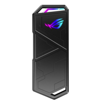 Picture of Asus ROG STRIX ARION M.2 NVMe SSD Enclosure, USB 3.2 Gen2 Type-C, Aluminium, Thermal Pads, RGB Lighting