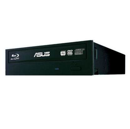 Picture of Asus (BW-16D1HT) Blu-Ray Writer, 16x, SATA, Black, BDXL & M-Disc Support, Cyberlink Power2Go 8