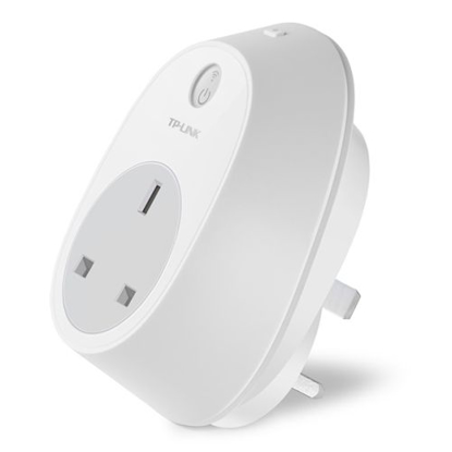 Picture of TP-LINK (HS100) Kasa Wi-Fi Smart Plug, Remote Access, Scheduling, Away Mode, Amazon Echo