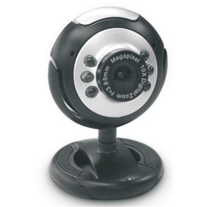 Picture of Dynamode M-1100M Webcam with Mic, 2.0MP, Snapshot Button, Blister Pack