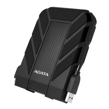 "Picture of ADATA 1TB HD710 Pro Rugged External Hard Drive, 2.5"", USB 3.1, IP68 Water/Dust Proof, Shock Proof, Black"