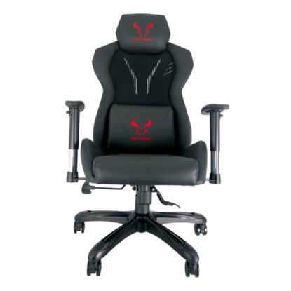 Picture of Riotoro SPITFIRE M2 Pro Level Mesh Gaming Chair, Exoskeleton back, Lumbar Support, Breathable Mesh, 1D Armrests,  Gas Lift, 360° Swivel, 135° Recline
