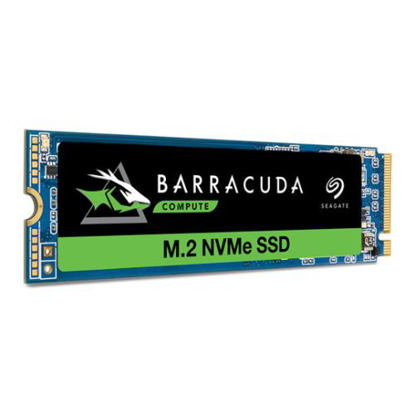 Picture of Seagate 1TB BarraCuda 510 M.2 NVMe SSD, M.2 2280, PCIe, TLC 3D NAND, R/W 3400/3000 MB/s, 600K/600K IOPS