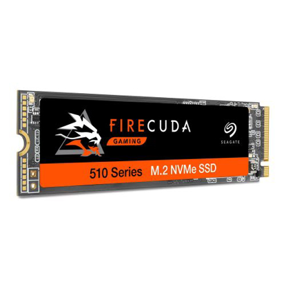 Picture of Seagate 1TB FireCuda 510 M.2 NVMe SSD, M.2 2280, PCIe, TLC 3D NAND, R/W 3450/3200 MB/s, 620K/600K IOPS, OEM