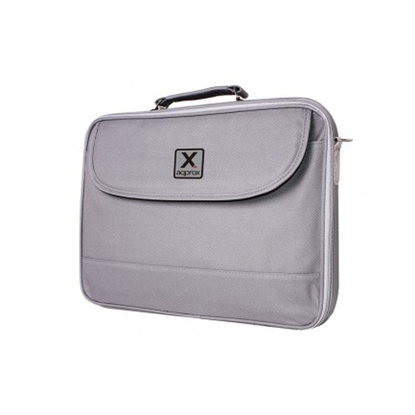 "Picture of Approx (APPNB17G) 17"" Laptop Carry Case, Multiple Compartments, Padded, Shoulder Strap, Grey"