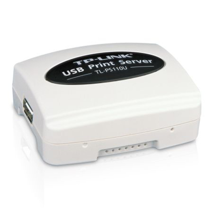 Picture of TP-LINK (TL-PS110U) Wired Single USB2.0 Port Fast Ethernet Print Server