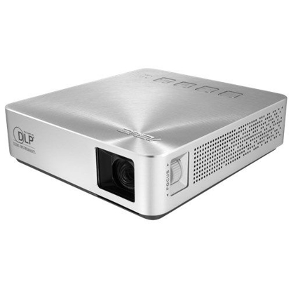 Picture of Asus S1 Portable DLP LED Projector, 854 x 480, 16:9, HDMI, MHL, 200 Lumens, 6000mAh Battery
