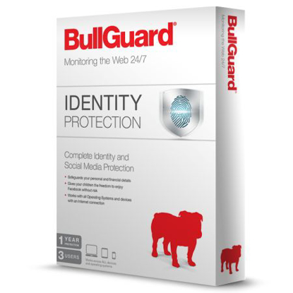 Picture of Bullguard Identity Protection 3 User Retail 10 Pack - 10 x 3 User Licences - 1 Year - PC, Mac & Android