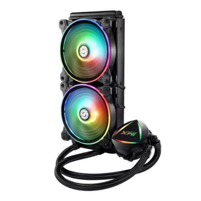 Picture of ADATA XPG Levante 240 ARGB Liquid CPU Cooler, 2 x 12cm ARGB PWM Fans