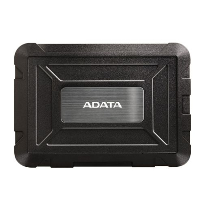"""Picture of ADATA ED600 2.5"""" SATA Drive Caddy, USB 3.2 Gen1, USB Powered, IP54 Water, Dust & Shock Proof"""