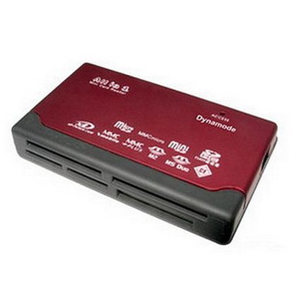 Picture of Dynamode (USB-CR-6P) External Multi Card Reader, 6 Slot, USB Powered