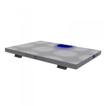 Picture of Approx (APPNBC05W) Laptop Cooler, 2 Fans, 3 LEDs, White, Retail