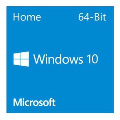 Picture of Microsoft Windows 10 Home 64-bit, OEM DVD, Single Copy
