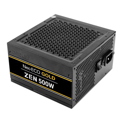 Picture of Antec 500W NeoECO Gold ZEN PSU, Fully Wired, LLC Design, 80+ Gold, Cont. Power