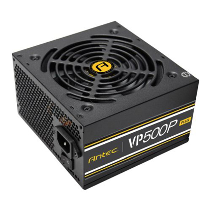 Picture of Antec 500W VP500P Plus PSU, Sleeve Bearing Fan, Single 12V Rail, Fully Wired, 80+ White