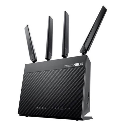 Picture of Asus (4G-AC68U) AC1900 (600+1300) Wireless Dual Band 4G LTE Router, 4-Port, WAN Port, USB 3.0
